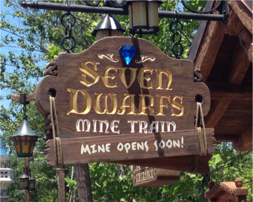 Seven Dwarfs Mine Fantasyland Magic Kingdom