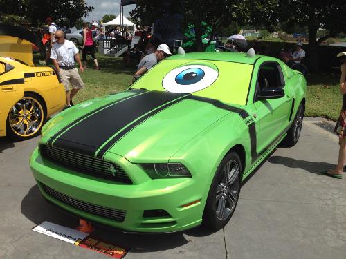Disney Car Show