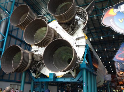 Saturn rocket Image